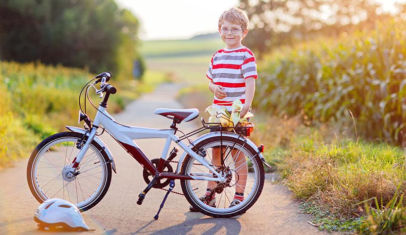 Därför bör alla barn lära sig cykla