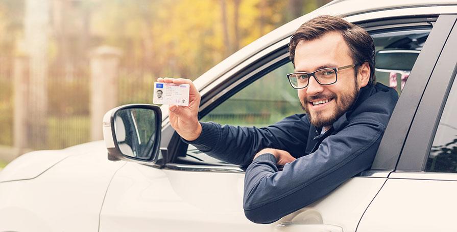 Att ta körkort med trafikskola